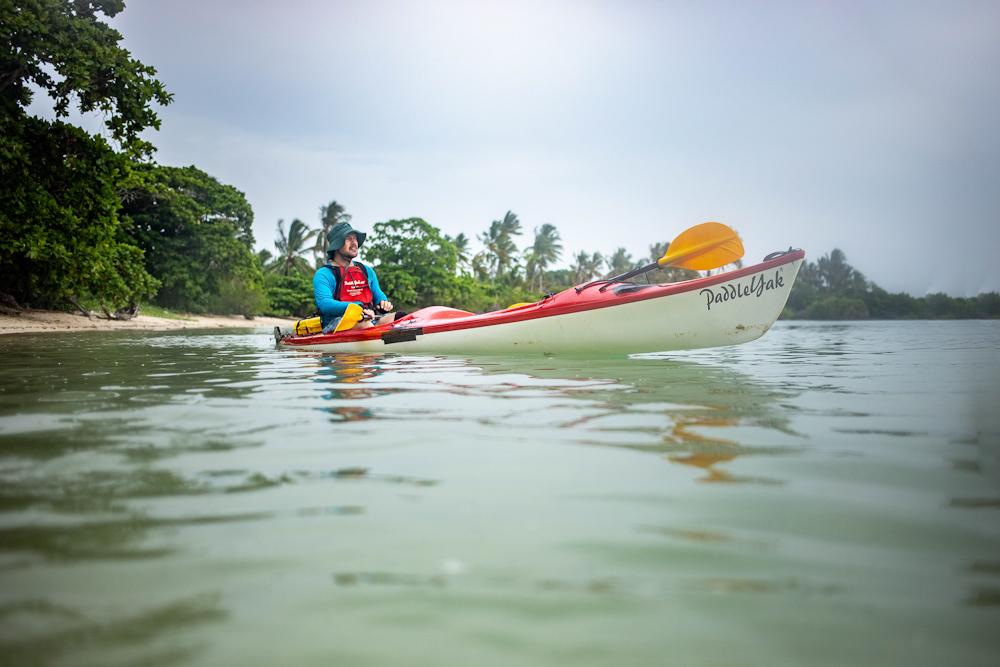 Kayaking adventures in paradise
